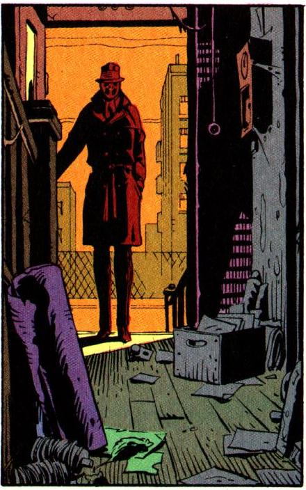 watchmen essay Rorschach in the graphic novel, watchmen, written by alan moore and published in the year 1986, rorschach is the only real vigilante, any person who takes the law.