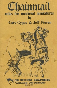 Dungeons and Dragons had its roots in a fantasy supplement for Gary Gygax's medieval wargame Chainmail.